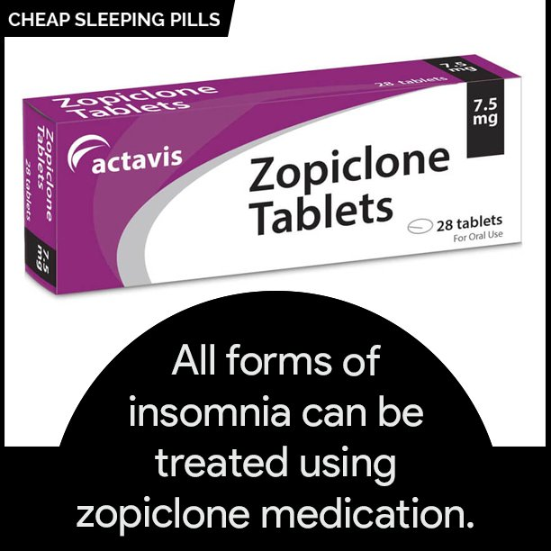 Buy Zopiclone Online to Treat Insomnia
