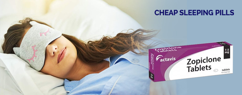 Enjoy Hours of Sleep with Zopiclone 7.5