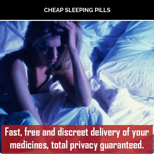 Sleeping Pills! Anxiety Medication! You Name It, They've Got It